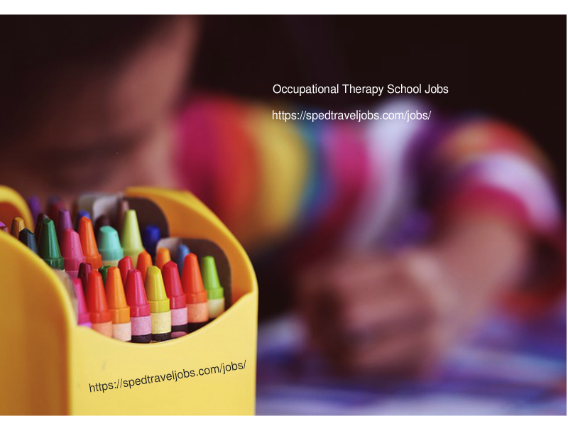 school occupational therapist jobs
